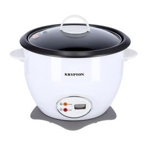 Krypton KNRC5283 Electric Rice Cooker, White-HV