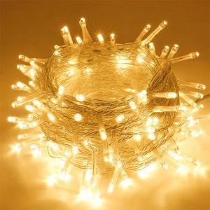 LED String Decoration Light Warm White 10 Meter- Multiple Lighting Modes-HV