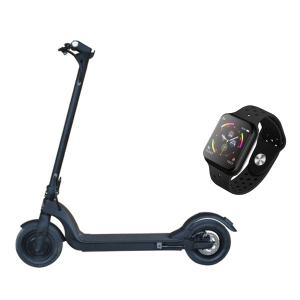 FOR ALL PREMIUM Electric Foldable scooter with F9 Smartwatch-HV