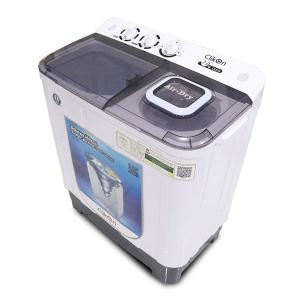 Clikon CK616 Semi Automatic Washing Machine Twin Tub, 7KG-HV