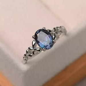 SIGNATURE COLLECTIONS Blue Moon Zircon Ring-HV