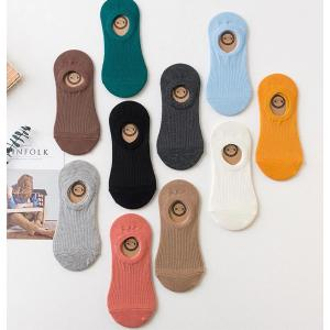 Ladies Socks 2 Pairs Black White-HV