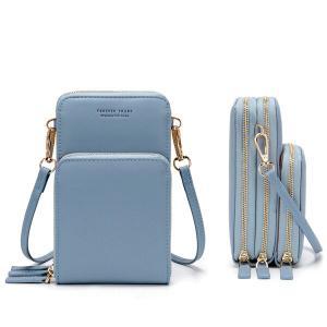 Forever Young Multifunctional Crossbody and Shoulder Bag For Women, Light blue-HV