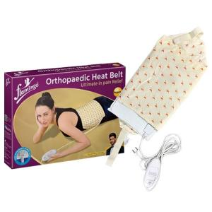 Flamingo Orthopaedic Heat Belt for Back Pain & Cramps Relief, XL Size-HV