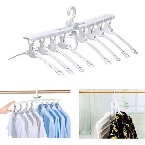 GO HOME Best selling 8 in 1 space saving clothes hanger-HV