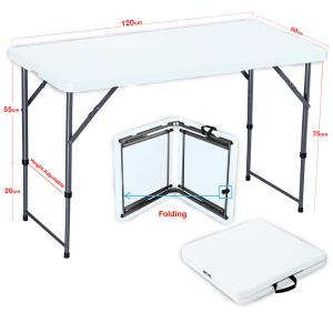 Home Dining And Portable Outdoor Tool White GM542-w-HV