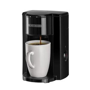 BLACK+DECKER 1 Cup Coffee Maker With Ceramic Cup DCM25N-B5-HV