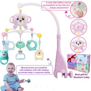 Baby Bed Bell Pink GM297-HV