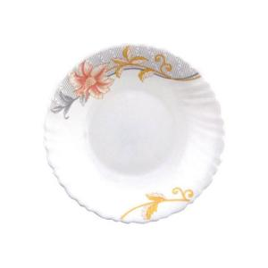 Royalford RF6094 Opal Ware Soup Plate, 8.5 Inch-HV