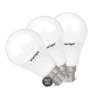 Smart Light 3 IN 1 9w Led Bulb- SML2005LEDB-B22-HV
