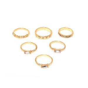 LUXZIY LXZR1320004 Ring Set (6pcs)-HV