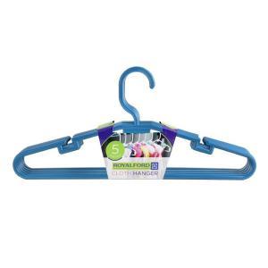 Royalford RF5426 Plastic Clothes Hanger (5 pcs)-HV