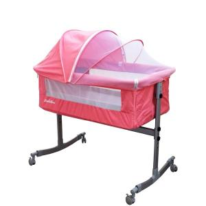Sweet Dreams Besides Co Sleeper With Mosquito Net Pink GM385-p-HV