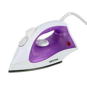 Krypton KNSI6071 1200W Non-Stick Soleplate Steam Iron White and Violet-HV