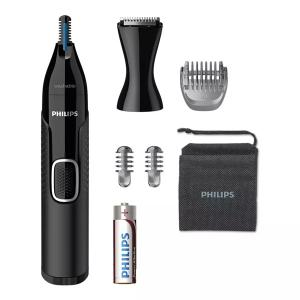 Philips Nose Trimmer Series 5000 Nose Ear Eyebrow & Detail Trimmer NT5650/16-HV
