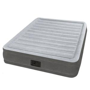 Intex 67768 Queen Comfort Rise Airbed With Built-in Pump-HV