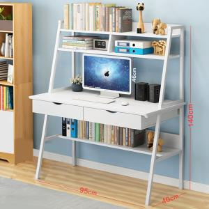 Strong Laptop Desk with 4 Shelfs White GM549-7-w-HV