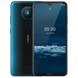 Nokia 5.3 Ta-1234 Dual Sim 4GB RAM & 64GB Internal Storage Gcc Cyan-HV
