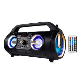 Krypton KNMS5134 Rechargeable Bluetooth Speaker With Karaoke Function-HV
