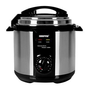 Geepas GPC307 Electric Pressure Cooker 6L-HV