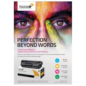 Toucan Yellow Toner Cartridge Compatible with Hp CB542A/CE322A/CF212A -HV