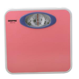Geepas GBS4162 Mechanical Weighing Scale with Height and Weight Index Display-HV