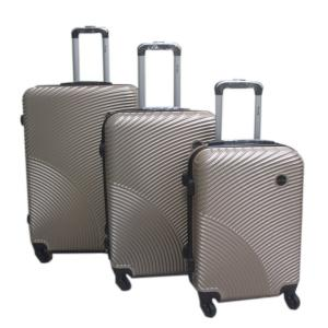 3 IN 1 Professional Airway 4 Wheel Trolley Bag  Gold Color-HV
