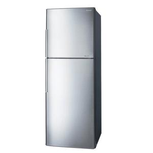 Sharp SJ-S390-SS3 Double Door Refrigerator Inverter, 348Ltr-HV