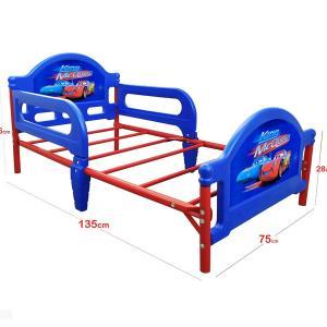 Kids Toddler Bed 130cm Long Blue Multicolor GM541-bmc-HV
