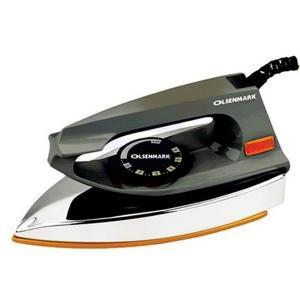 Olsenmark OMDI1561 Automatic Dry Iron, Black-HV