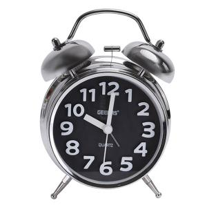Geepas GWC26020 Twin Bell Alarm Clock-HV