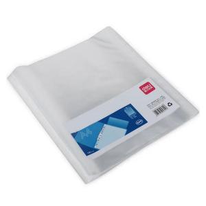 Document Bags Transparent A4 Pack Of 100 Pcs,12 Holes-HV