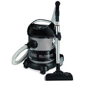 Black+Decker 20l Drum Vacuum Cleaner BV2000-B5-HV