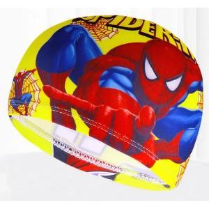 Children Cartoon Swimming Cap Spiderman-HV