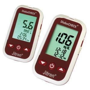 Jitron DiabeCHECK Blood Glucose Monitoring System 5 strips-HV
