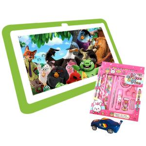 9 IN 1 Combo T-Pad T265 Kids 7 Inch Tablet Green -HV