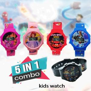 5 In 1 Combo Kids Watch-HV