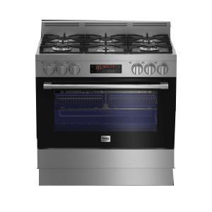 BEKO Free Standing Cooker Multi-functional, 90 cm GM16425DXNG-HV