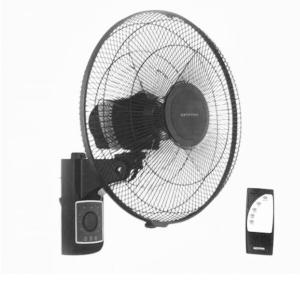 Krypton KNF5242 16 Inches Wall Fan with Remote Black-HV