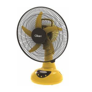 Clikon CK2360 12-Inch Rechargeable Fan-HV