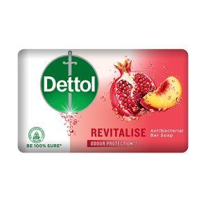 Dettol Profresh Revitalise Antibacterial Bar Soap, 130 g-HV