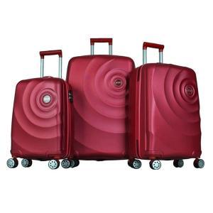 Platinum 1GR0106353-034 Travel Bag Dribble 3 Set, Red-HV