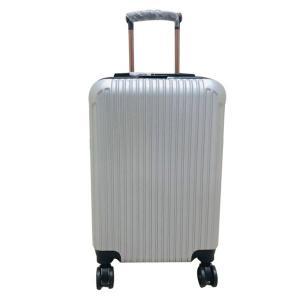MDL-1801 Travelling Trolley Bag 20-Inch, Silver-HV