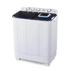 Clikon CK614 Semi Automatic Washing Machine Top Load Twin Tub, 12KG-HV