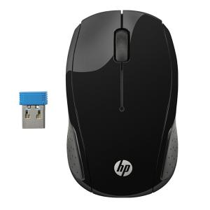 HP 200 X6W31AA Wireless Mouse Black-HV