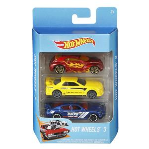 Hot Wheels Basic  3 Car Pack- K5904-HV