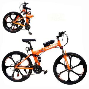 Aluminium Hummer 24 Inch Bicycle Orange GM52-o-HV