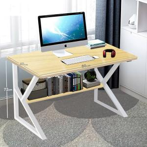 Small Laptop Desck With Shelf Beige GM549-6-bi-HV