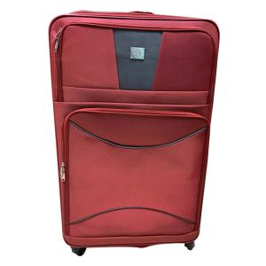 QTS 20-Inch Travelling Trolley Bag, Red-HV