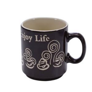 Royalford RF5937 Stone Ware Coffee Mug, 9oz-HV